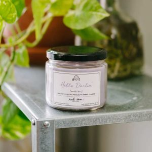 Hello Darlin' 12 oz. scented candle