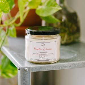 Rustic Charm 12 oz. Signature scented candle