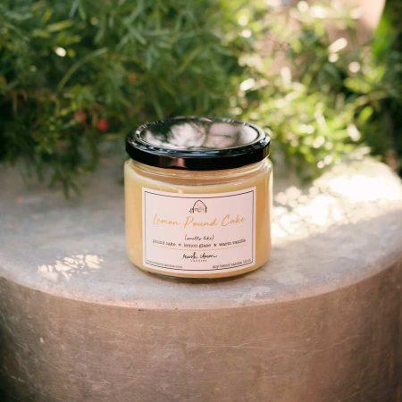 Lemon Pound Cake 12 oz. candle