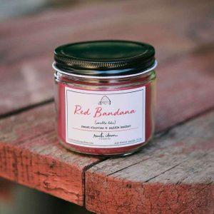 Red Bandana 12 oz. candle