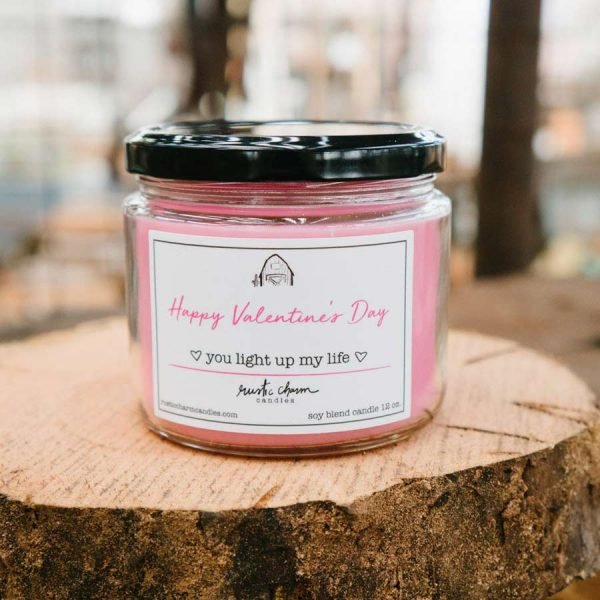 You Light Up My Life 12 oz. candle